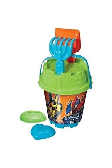 Dede Transformers Küçük Kale Kova Set Renkli